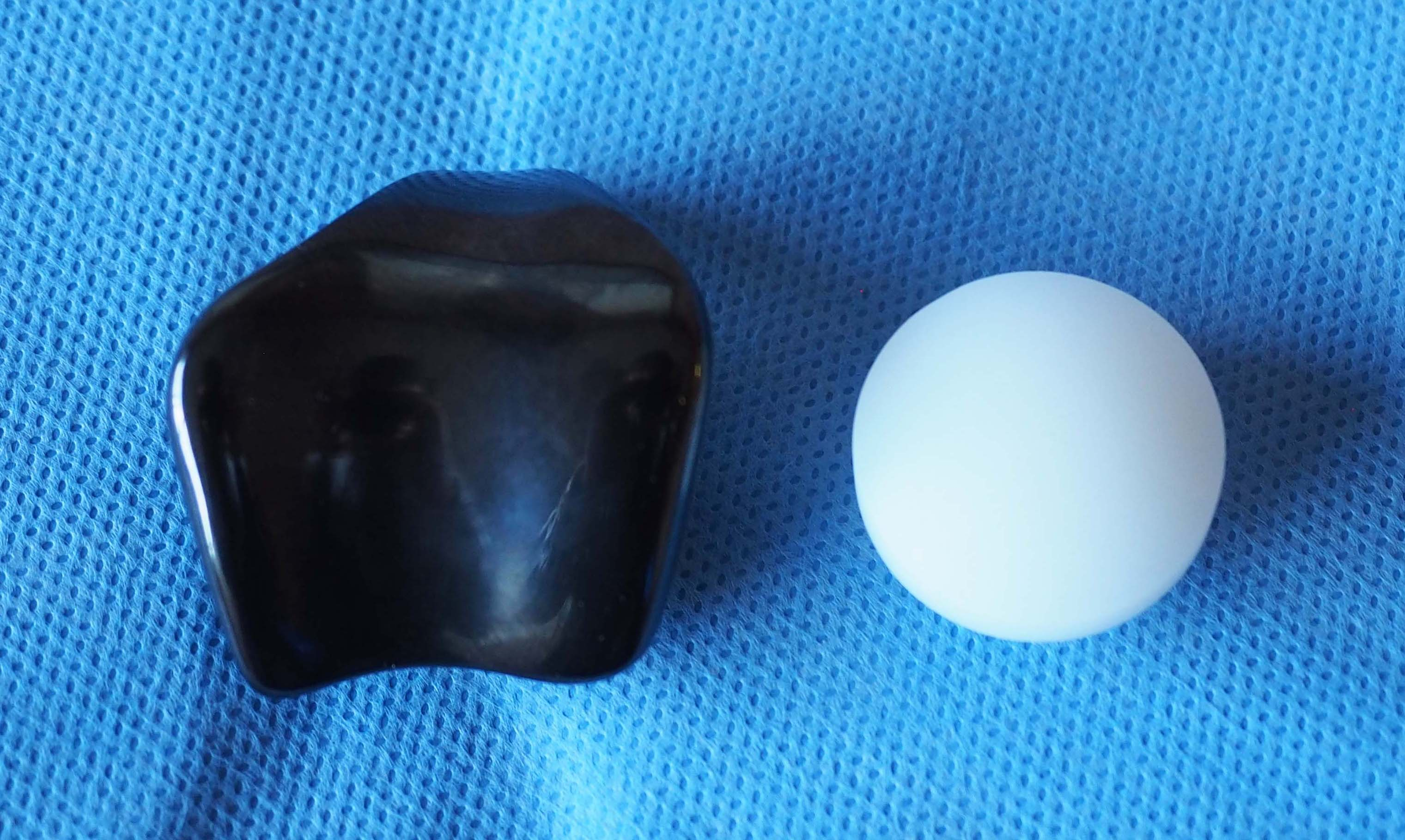 Photo of patellofemoral replacement implants