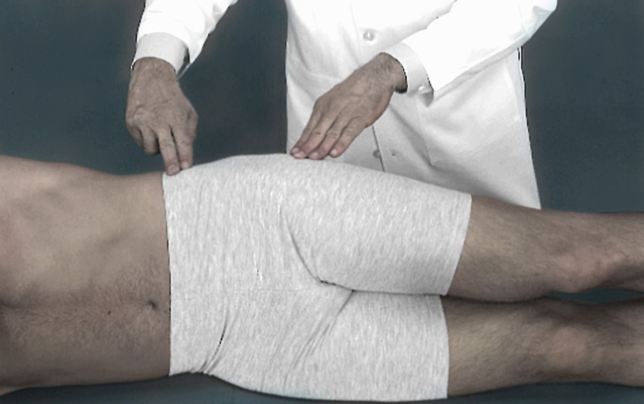 Physical examination for hip bursitis