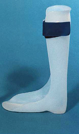 An foot-ankle orthosis (AFO)