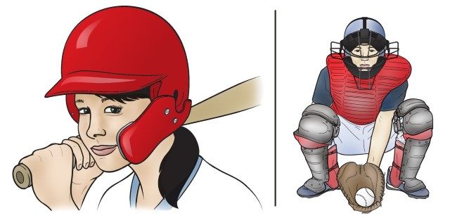 protective baseball equipment