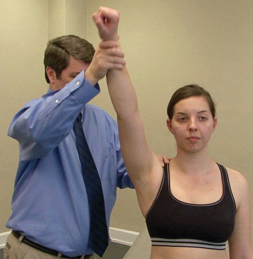 Physical exam for frozen shoulder