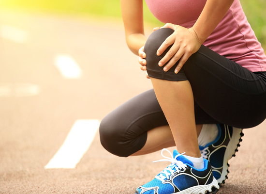 Knee pain in runner