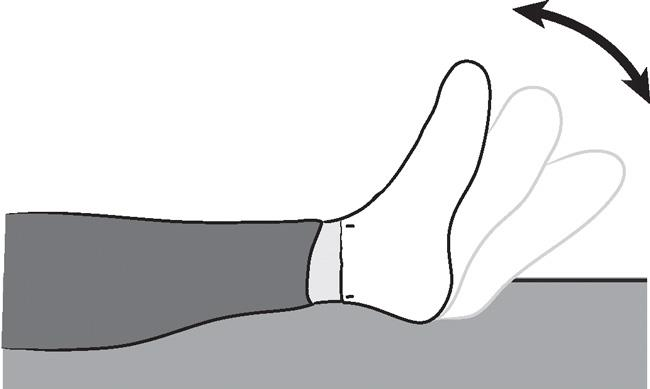 Illustration of ankle pumps