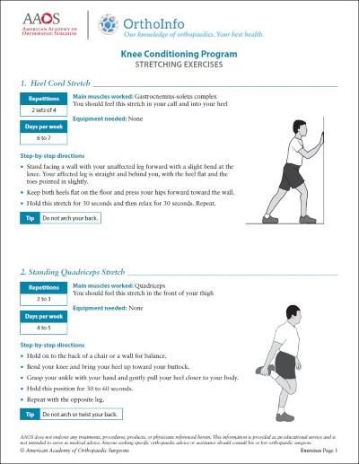 Adolescent Anterior Knee Pain - OrthoInfo - AAOS